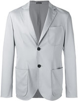 Giorgio Armani two button blazer - men - Virgin Wool/Mulberry Silk/Spandex/Elastane - 52