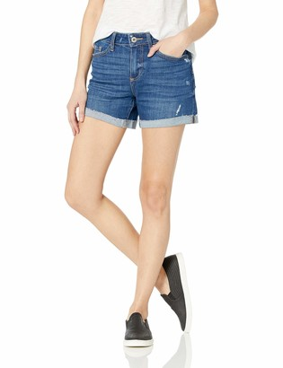 Paige Women's Parker Relaxed Short w/Raw Cuff