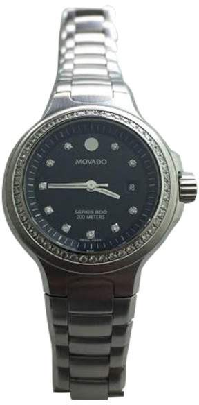 Movado Series 800 Diamonds Dial Watch
