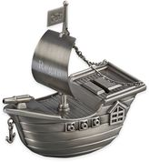 Pirate Ship Bank in Pewter