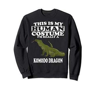 Dragon Optical This Is My Human Costume I'm Really A Komodo Gift Sweatshirt