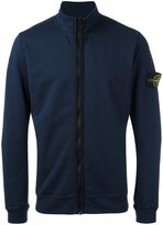 Stone Island zip cardigan - men - Cotton/Spandex/Elastane - XXL