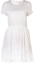 Girl. By Band Of Outsiders Sheer lace trim dress