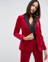 Asos Sexy Velvet Blazer