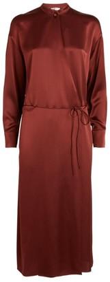 Vince Silk Wrap Dress