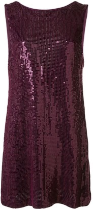 Alice + Olivia Kamryn sequinned mini dress