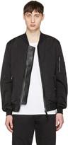 Mackage Black Ragnar Bomber Jacket