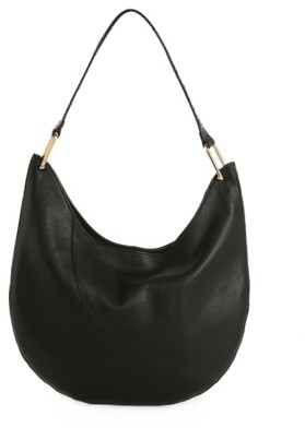 Vince Camuto Shae Leather Hobo Bag