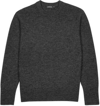 J. Lindeberg Isaac charcoal wool-blend jumper