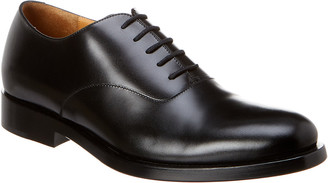 Valentino Lace-Up Leather Oxford