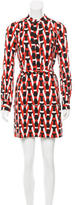 Diane von Furstenberg Silk Tunisa Dress