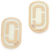 Marc Jacobs Icon Enamel Stud Earrings
