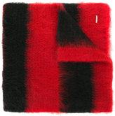 Dondup striped oversized scarf