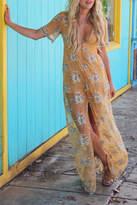 Promesa USA Yellow Lace Maxi
