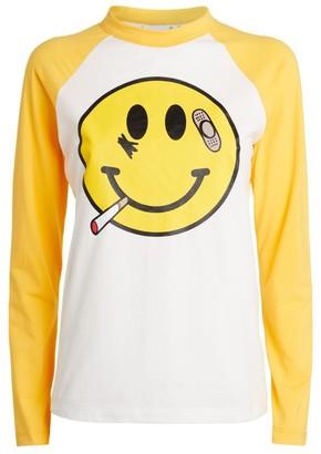 Natasha Zinko + DUOltd Smiley Face T-Shirt