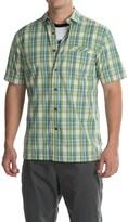 Pendleton Plaid Surf Shirt - Short Sleeve (For Men)