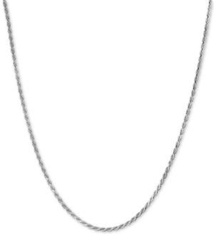 Giani Bernini Rope Chain Adjustable 22