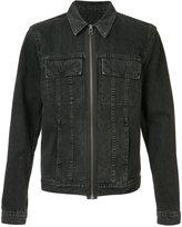 Helmut Lang zipped denim jacket - men - Cotton/Polyester - S