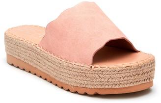 BEACH BY MATISSE Palm Women's Espadrille Platform Slide Sandals