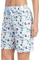 Jockey Women's Pajamas: Butterfly Graphic Bermuda Shorts