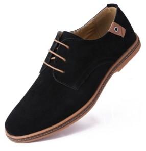 MIO Marino Men's Classic Suede Derby Oxford Shoes Men's Shoes