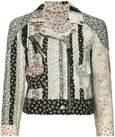 Coach Moto Prairie biker jacket - women - Cotton - 2
