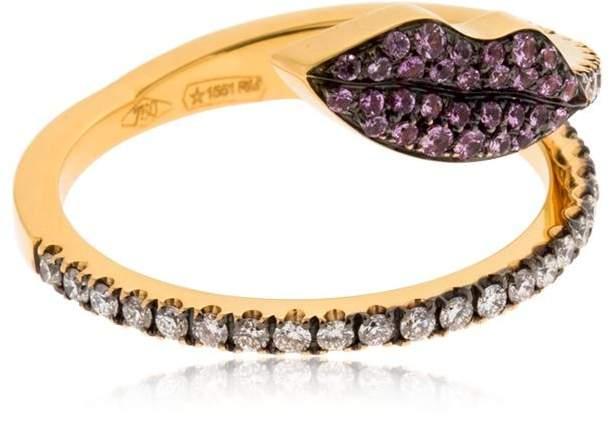 Delfina Delettrez Marry Me Lips Ring