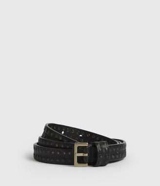 AllSaints Copa Leather Belt