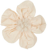Lanvin WOMEN'S COTTON-SILK WEDDING FLOWER HAIR COMB-CREAM, NUDE