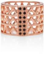 Alexandra Alberta - Guggenheim Black Diamond Ring