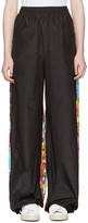 Ports 1961 Black Floral Drawstring Trousers