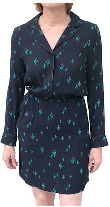 La Petite Francaise Black Cotton Dress for Women