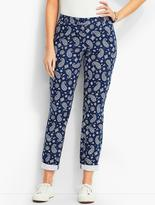 Talbots The Weekend Chino-Tossed Paisley