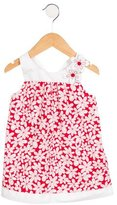 Florence Eiseman Girls' Floral Keyhole-Accented Dress