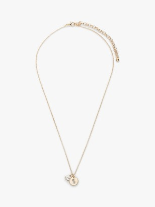 John Lewis & Partners Girls' Initial Necklace, Gold