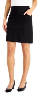 Charter Club Pull-On Mini Skirt, Created for Macy's