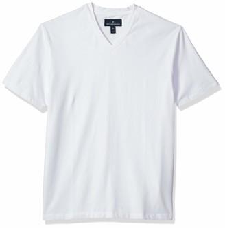 Buttoned Down Men's Short-Sleeve V-Neck Supima Cotton Stretch T-Shirt