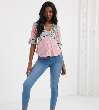 Urban Bliss Maternity super stretch pull on skinny jeans