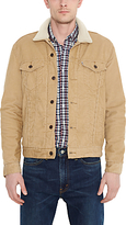Levi's The Sherpa Corduroy Trucker Jacket, Harvest Gold