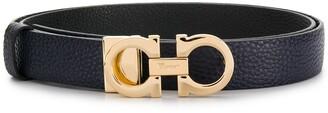 Salvatore Ferragamo Logo-Plaque Belt