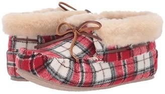 Minnetonka Plaid Chrissy (Red Plaid) Women's Shoes