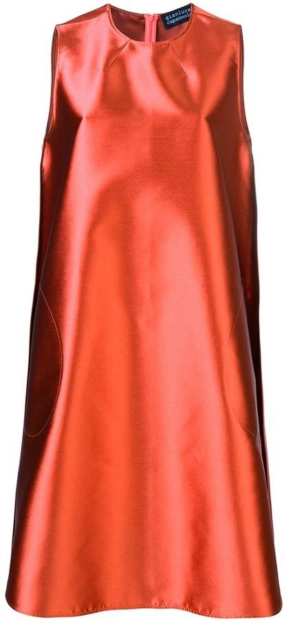 Gianluca Capannolo sleeveless A-line dress
