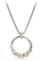 David Yurman Helena Small Pendant Necklace with Diamonds