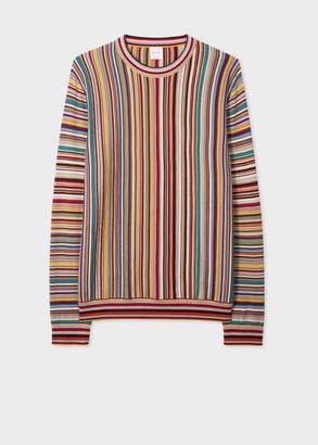 Paul Smith Men's 'Signature Stripe' Wool Sweater
