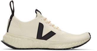 Rick Owens Beige Veja Edition V-Knit Sneakers