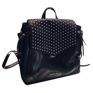 Michael Kors Bristol Black Leather Backpacks