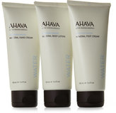 Ahava Set of 3 Precious Mineral Stars Collection