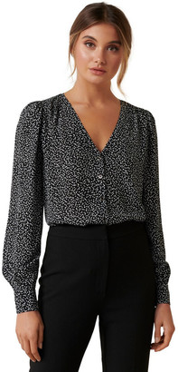 Forever New Linda Removable Tie Blouse