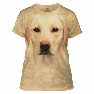The Mountain Yellow Lab Portrait Adult Woman's T-Shirt