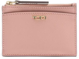 Tumi Belden Leather Zip Card Case